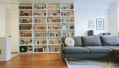 مدل های قفسه کتاب در طرح های کلاسیک و مدرن مناسب فضاهای کوچک
