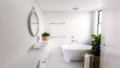 مدل دکوراسیون حمام مدرن به سبکی ساده و بسیار زیبا