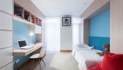 خانه های مدرن با اتاق خواب های مدرن برای کودکان و خردسالان