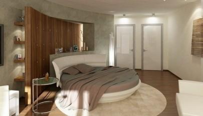 آشنایی با مدل هایی زیبا از تخت خواب های گرد و دایره شکل