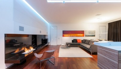 دکوراسیون خانه مدرن برای زوج های جوان و عاشق طراحی