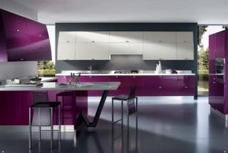 عکس و طراحی کابینت آشپزخانه مدرن در رنگ های مختلف