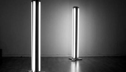آباژور و لامپ زمینی مدرن و ساده برای دکوراسیون اتاق نشیمن