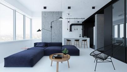 دکوراسیون مدرن و مینیمال مناسب آپارتمان های کوچک و کمجا