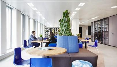 طراحی داخلی دکوراسیون اداری مدرن در شهر آمستردام هلند