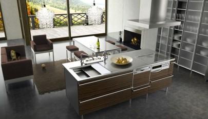 مدل اپن آشپزخانه در طرح های شیک و کاربردی مناسب منازل امروزی