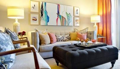 مدل تابلوی نقاشی مدرن مناسب تزیین دیوار تمامی اتاق های خانه