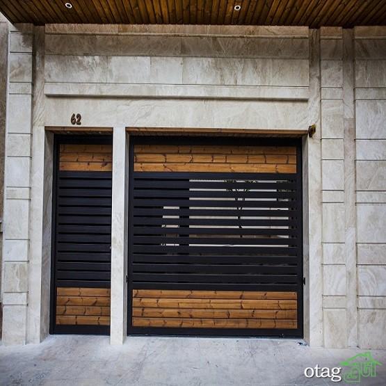 48 مدل نمای خانه یک طبقه و دو طبقه با ترکیب چوب [ساختمان مدرن 2019]