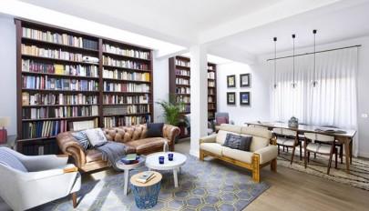 خانه برای عاشقان کتاب و دوستداران مطالعه با طراحی بسیار شیک