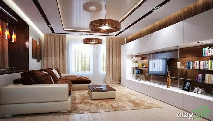 28 مدل نحوه صحیح نورپردازی دکوراسیون منزل در پذیرایی و نشیمن / عکس