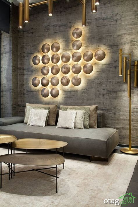 37 مدل نورپردازی دکوراسیون داخلی خانه بسیار زیبا و مدرن