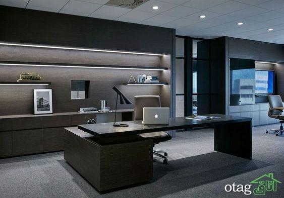 40 مدل دکوراسیون اتاق کار شیک و مدرن[در سال جدید]