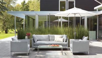 مدل های شیک و جدید مبلمان پاسیو و حیاط خلوت منازل مسکونی