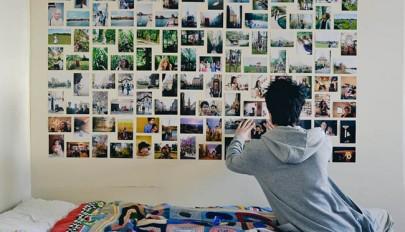ایده های جدید برای تزیین دیوار اتاق با عکس های خاطره انگیز