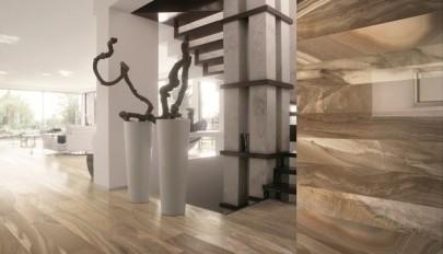 کفپوش کاشی و سرامیک با طرح سنگ مرمر برای دکوراسیون داخلی