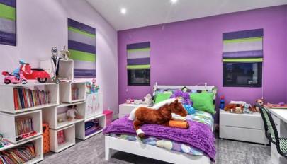 دکوراسیون عاشقانه اتاق خواب با رنگ ها و سایه های منحصر بفرد