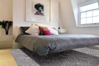 مدل قالیچه های دستباف و نرم الهام گرفته شده از طبیعت