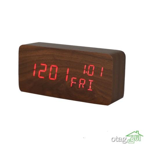 قیمت خرید 35 مدل ساعت رومیزی مدرن ، دکوری و چوبی با لینک خرید
