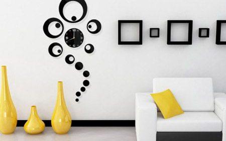30 مدل ساعت دیواری جدید و شیک با طراحی خلاقانه [مدرن و چوبی]