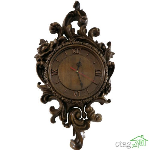 لیست قیمت خرید 24 مدل ساعت دیواری چوبی شیک در بازار