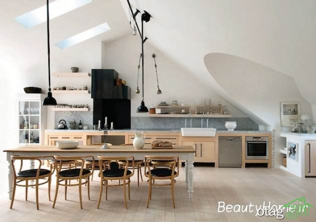 25 مدل صندلی اپن آشپزخانه [شیک و زیبا] در دکوراسیون آشپزخانه 2019