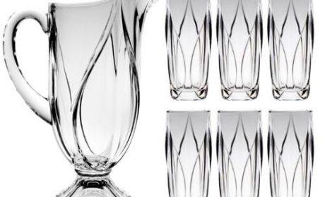 قیمت خرید ست پارچ و لیوان  [43 مدل پر فروش] در بازار در سال جدید