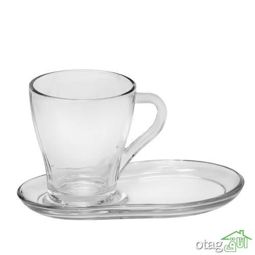 لیست قیمت ست فنجان و نعلبکی [ 33 مدل پر فروش ] چینی و کریستال