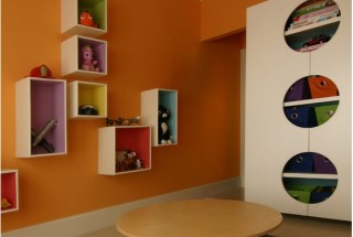 شلف ها و قفسه های دیواری چوبی و تزیینی شیک و زیبا / عکس