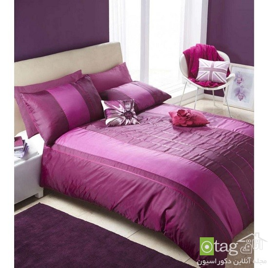 Duvet Covers Single Bed Purple Plum Sequin Quilt Cover Cover