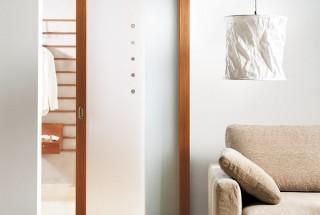 مدل در کشویی شیشه ای و چوبی دکوراسیون داخلی / درهای ریلی