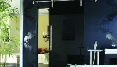 زیباترین مدل های درب کشویی ساخته شده با چوب و شیشه