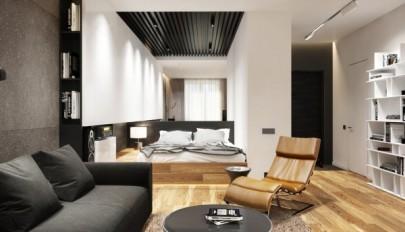 دکوراسیون آپارتمان 50 متری مناسب برای خانواده های کم جمعیت