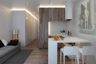 دکوراسیون آپارتمان های کوچک 47 و 39 متری با طراحی دقیق
