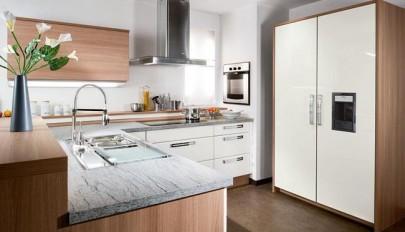 دکوراسیون آشپزخانه کوچک و سازمان یافته برای تمام وسایل