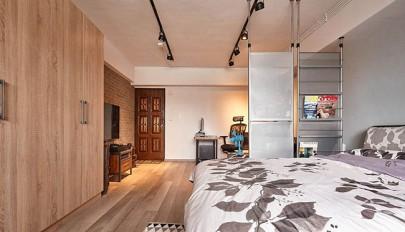 طراحی داخلی آپارتمان مجردی بسیار کوچک به سبک مدرن و امروزی