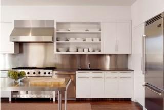 انواع مدل کابینت فلزی در دکوراسیون آشپزخانه مدرن / تصاویر