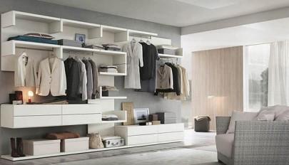 طرح های جدید و شیک کمد اتاق خواب مناسب فضاهای کوچک