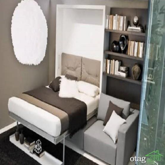 30 مدل تخت کمجا و تاشو شیک در دکوراسیون اتاق خواب کمجا در سال 2019