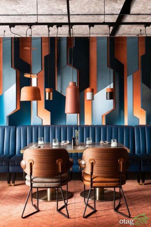 34 مدل تزئین دیوار رستوران [ شیک و منحصر به فرد ]