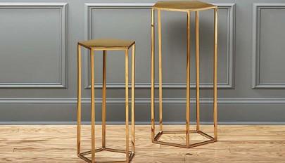 مدل های جدید میز پایه بلند در دکوراسیون اتاق نشیمن و خواب