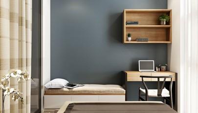 دکوراسیون اتاق خواب کوچک با استفاده از تخت خواب کمجا