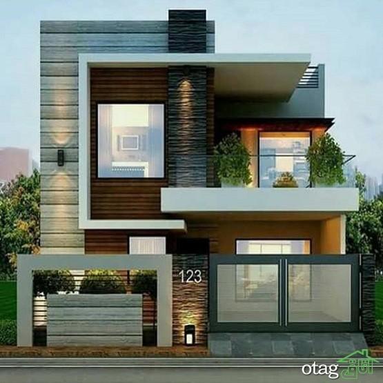 50 مدل عکس نمای بیرونی ساختمان ویلایی شیک و لوکس در ایران - سال جدید