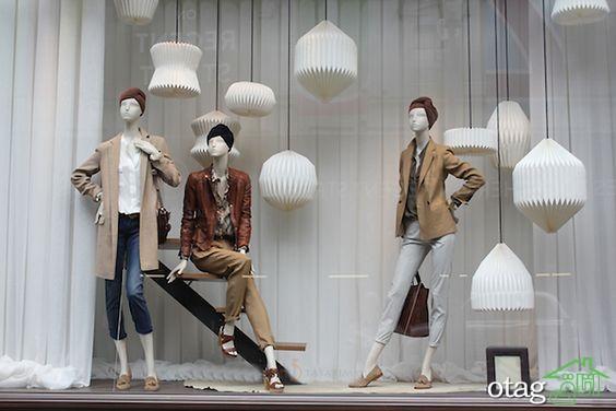 25 مدل دکوراسیون ویترین فروشگاه مدرن و بسیار شیک