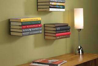 کتابخانه خانگی دیواری با طرح جدید، ظریف و خلاقانه