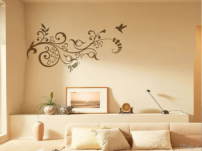 wall-stickers-floral-motif