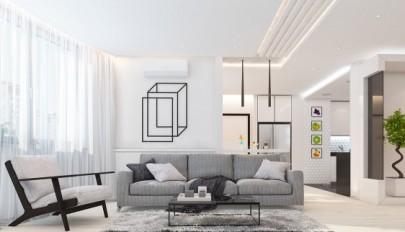 مدل های رنگ سفید در دکوراسیون داخلی خانه های مدرن و امروزی
