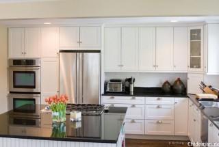 کابینت سفید انواع کابینت آشپزخانه سفید - عکس دکوراسیون