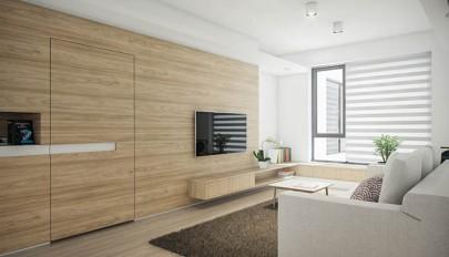 استفاده از چوب در دکوراسیون داخلی منزل بعنوان مصالح اصلی