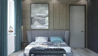 مدل دیوار چوبی در دکوراسیون اتاق خواب های مدرن و کلاسیک