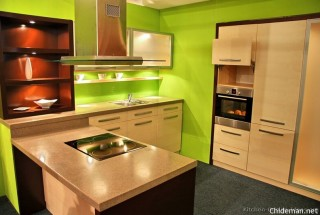 کابینت چوبی - مدل کابینت آشپزخانه - دکوراسیون چوبی